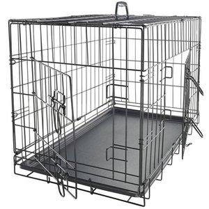 Бесплатная доставка производителей прямых продаж PET питомца кошка собака складной стальной ящик животных образцов проволоки металл