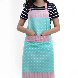 Polyester Cotton Cooking Apron For The Kitchen Coffee Shops And Flower Shops Work Cleaning Aprons For Woman 3 Color