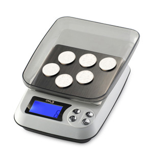 Portable Kitchen Electronic Scale LCD Mini Pocket Scales Precision Digital Jewelry Scale Weight Scale Cooking Kitchen Tool Weighing Scales