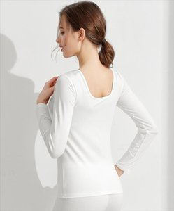 New T Shirt Women Long Sleeve Winter Tops Tees O neck T shirts For Women Thermal Underwear Female shirt Camisas Femininas
