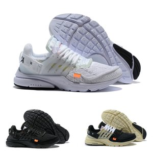Nike Air Max Presto Airmax White Prestos Shoes OFF Alta calidad 2021 NUEVO V2 Ultra BR TP QS Black White Sports Shoes Lujitadores Diseñadores Airs Cojín Mujeres