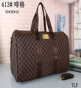 2020 new fashion men women travel bag duffle bag, brand designer luggage handbags large capacity sport bag 55X26X34CM
