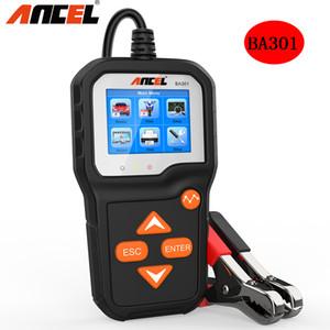 ANCEL BA301 testeur de batterie 12V / 6V Auto Moto System Analyzer batterie PK KW600 voiture de charge Outils de test Cranking