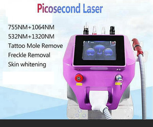 2021 Newest Portable Nd Yag Laser Picosecond Laser With Carbon Peel Skin Whitening Tattoo Removal Skin Care Machine