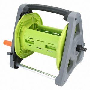 Anti-Korrosions-Garten Wasserschlauch Wagen Wasserrohr Storage Rack Reel Gartenzubehör für 20m Schlauch Garden Supplies eDDx #