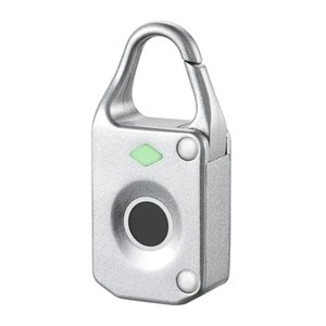 Fingerprint Padlock Electronic Intelligent Padlock Security Keyless USB Rechargeable Door Lock Quick Unlock Zinc Alloy