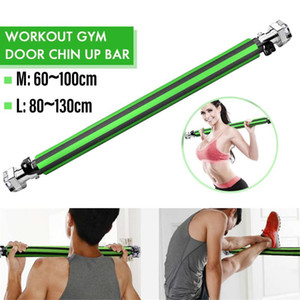 200kg Door Horizontal Bars 60-100cm Steel Adjustable Training For Home Gym Workout Sport Fitness Sit-ups Pull Up Bar Equipments
