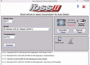 Para Isuzu IDSS II 2017 Isuzu Diagnostic System Service + Licença para muitos PC k1HS #