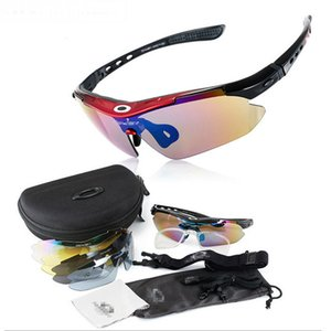 Army fan Oji 0089 polarized sports for men and women outdoor riding glasses windproof dazzle color Sunglasses with 4-color lenses