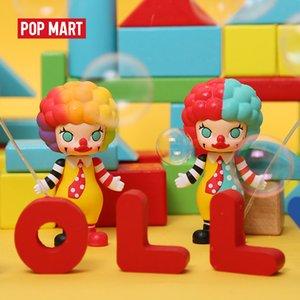 Pop Mart Molly Carreira Art Brinquedos Figura Caixa Aleatória Presente Caixa Caixa de Ação Figura Presente de Aniversário Frete Grátis 201016