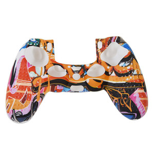 Silicone Gamepad Protective Cover Joystick Case For PS5 Game Console Skin Guard Game Accessories 26 Colors