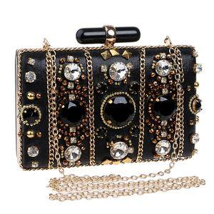 Women Luxurys 2020 Bags For Handbag Sparkly Bag Rhinestone Crystal Clutch Beading Diamond Shiny Shoulder Bag Designer Purse Evening Par Msjn