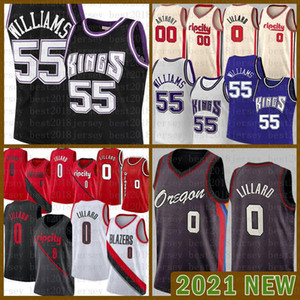 2021 New Basketball Jersey Sacramento