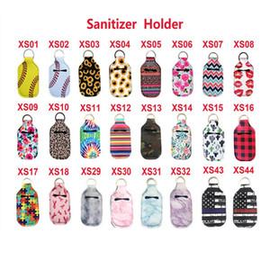 Hand Sanitizer Bottle Holder Borse portachiavi Portachiavi Sapone Bottle Holder neoprene 10 * 6CM DHL libero