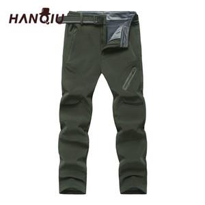 Big Size 9XL Softshell Men Fleece Quick Dry Pants Breathable Waterproof Pants Men Thermal Outwear Mens Trousers