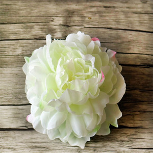 New Artificial Flowers Silk Peony Flower Heads Party Wedding Decoration Supplies Simulation Fake Flower Head Home Decorations 12 8 p2