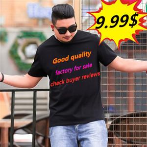 Di buona qualità classica nella sezione Commenti Sezione T-shirt da uomo di alta qualità T-shirt T-shirt hop Uomo e t-shirt a maniche corte con maniche corte