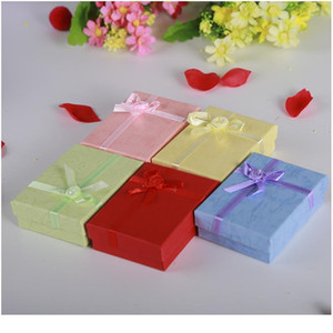 New 1pc Gift Box Square Jewelry Organizer Box Engagement Ring For Earrings Necklace Bracelet Display For Jewellery P jllMUC