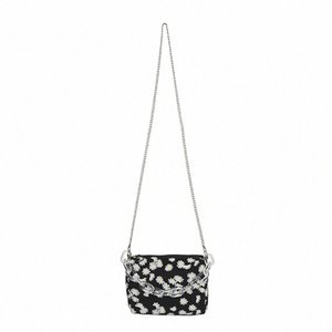 Fashion Daisy Printed Shoulder Bag 2020 Summer New Womens Chain Crossbody Bag Bolsa Feminina Mini Handbag seEc#