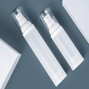 100pcs lot 15mL 30ml 50ml Empty lotion vacuum bottle spray bottles Plastic emulsion Vacuum flask Container tube
