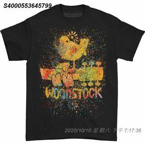 Woodstock Erkek Stephen Fishwick Erkek Woodstock Tişörtlü Siyah 15101510