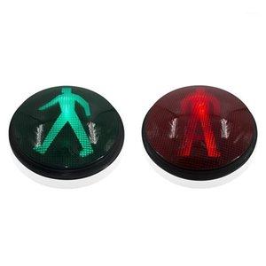 Semáforo 12inch vermelho vermelho pedestre conduziu o módulo para zebra travessia1