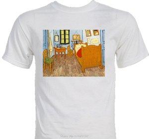 صورة فان جوخ الشهيرة الذاتي الانطباعية الفن الصيف عارضة رجل جيد النوعية المصممين هوديي تي شيرت البلوز