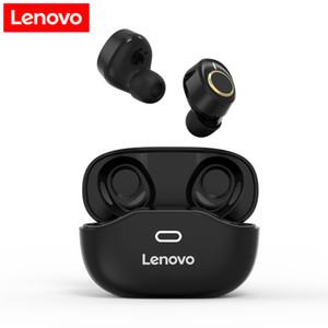 레노버 X18 블루투스 5.0 무선 헤드폰 미니 TWS 이어 버드 스포츠 헤드셋 인 - 이어 이어폰 터치 제어 / 마이크 승 케이스를 충전