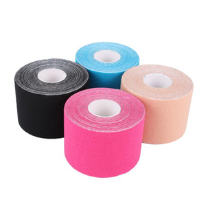 5cm x 5m Sports Tape Kinesiology Muscle stickers Tape Cotton Elastic Adhesive Muscle Bandage Care Physio Strain Support