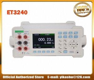 Цветной ЖК-цифровой мультиметр Емкостное сопротивление Частота измерения ET3240 Desktop Instrument DCV ACV DCI ACI mqFT #