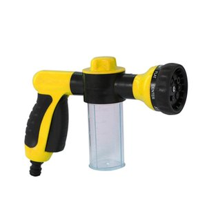 Foam Sprayer Garden Water Hose Foam Nozzle Soap Dispenser Gun for Car Washing Pets Shower Plants Watering