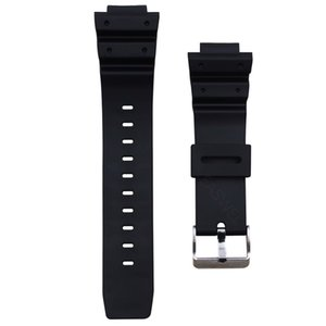 25mm Rubber Watch Band Strap Frosted For Casio G Shock Repair Parts Replacement