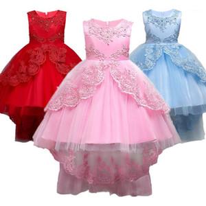 Abiti da ragazza Bambina Dress Bambini Bambini per ragazze 2 3 4 5 6 7 8 9 10 anni Abiti di compleanno Abiti da sera Partito formale Wear1