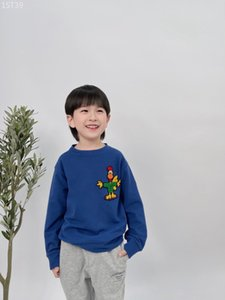 New Spring kids Girls Boys Sweatshirts Tops 2021Baby Boy Long Sleeve Hoodie Cotton Outfits Children Clothes 100-150 size