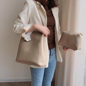 Elegant Bag Bag Bucket Crossbody 2021 Women's New Large Shoulder Leather Fashion Classic Female Quality Tote PU Designer Handbag Mdjjd
