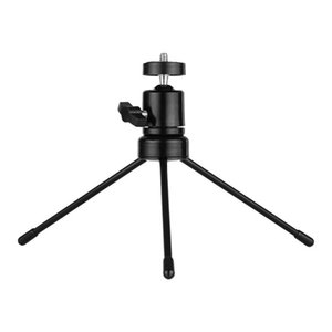 Table Ball Head Tripod Kit 360 Degree Rotatable U-shape Slot with Universal 1 4 Screw Tripod