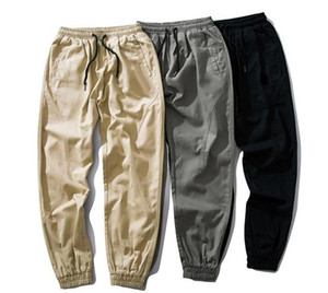 20ss Mens Joggers Pants Autumn Men embroidery Sportswear Drawstring Casual Tracksuit Sweatpants Trousers Black white designer Jogger Pants