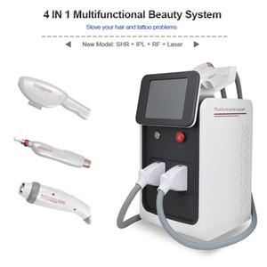 متعددة الوظائف آلة الجمال IPL SHR إزالة الشعر بالليزر ND YAG مزيل الشعر الدائم SHR IPL تخفيض الشعر Q التبديل إزالة الوشم بالليزر