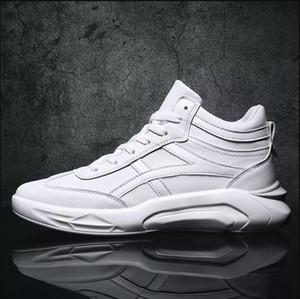 جودة عالية الرجال عارضة الأحذية الأبيض الأسود الأحمر الأزياء تنفس عالية قطع الأحذية الرياضية في الهواء الطلق أحذية رياضية الحجم 36-43