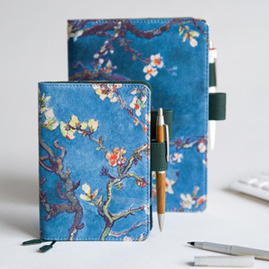 Retro Van Gogh Painting Hobonichis Cover Standard A5 A6 Diary Notebook Journal Stationery Supplies School Kawaii Plan Notepad