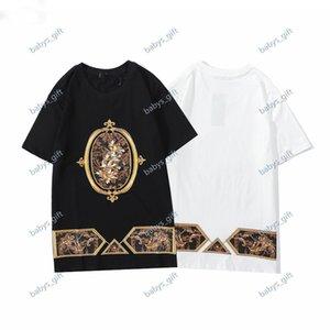 Dolce Gabbana sportswear 21 ss neues männer design t-shirt mode mode männer casual t-shirt straßenhorts sleeve t-shirt 2021