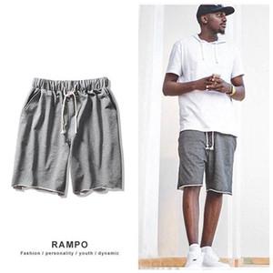 2020 New Bermudas Masculina Loose Sport Shorts Men Cool Summer Basketball Short Pants Hot Sale Running Shorts Sweatpants Kilt
