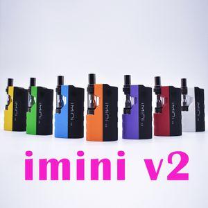 100% originale Imini v2 icarts Kit con 0,5 / 1,0 ml cartucce Preriscaldare batteria Mod Fit Liberty v1 v9 v14 AC1003 Vision filatore