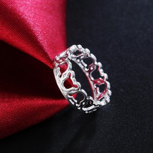Wholesale Silver Color Animal Rings Elegant Fashion Charm For Women Lady Jewelry Wedding Party Cute Gift Jshr942 H bbyKlk