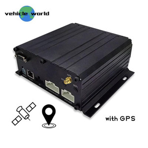 vehicle security cctv system blackbox HDD SSD 8channels mobile recorder in car dvr GPS 2TB storage