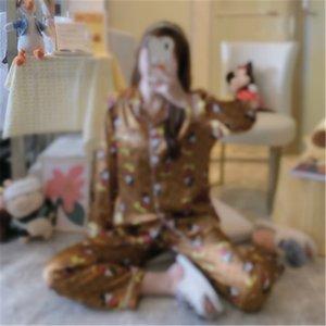 Kid Pyjamas Mignon Animaux Kid Peignoir Enfants Flanel Enfants chauds Pyjamas Long Dessin animé Serviette de bain Toile à capuche Pajama Shark Rabbit Pajamas WY37Q # 3861111
