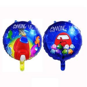 Bizimle Alüminyum Folyo Balonlar Oyunu Karikatür Anime Hava Balon Alanı Wolve Party Dekorasyon Balon Çocuklar Doğum Günü Dekorasyon Oyuncak G10707
