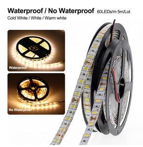 LED Strip Light Single Color 5630 SMD 5M 300led Flexible Bar Light IP65 Waterproof Indoor Outdoor Home Decoration Light