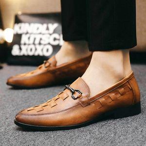 Loafers Men Shoes Autumn Fashion Shoes Men outdoor Slip-on Mocassins Boat Male Footwear Design Casual Flats #ET7B