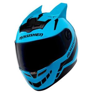 Motosiklet Kaskı Kadınlar Ayaklı Yukarı Motokros Kask Moto Capacetes De motociclista Yenilik Casque Moto ABS Malzeme